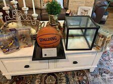 KOBE BRYANT Lakers Autographed NBA Basketball COA BY SCOREBOARD BRYANT ROOKIE YE