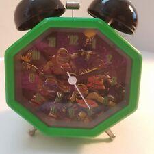 Teenage Mutant Ninja Turtles Light Up Twin Bell Alarm Clock Viacom 2014 Video