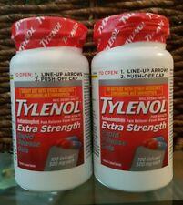TYLENOL EXTRA STRENGTH 200 RAPID RELEASE GELS ACETAMINOPHEN 500 mg No box