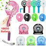 Mini Foldable Portable Handheld USB Fan Cooling 3 Speeds With Battery US Stock