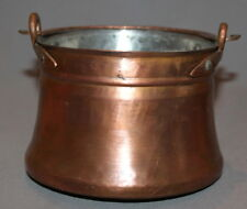 VINTAGE FOLK HAND MADE COPPER POT