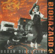 BIOHAZARD URBAN DISCIPLINE EUROPE 1992 ROADRUNNER RECORDS RR 9112 2
