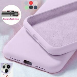 For Samsung Galaxy S21 S20 A72 A52 A71 A51 Soft Shockproof Silicone Case Cover