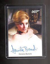 2016 James Bond Classics  Autograph Daniela Bianchi  card