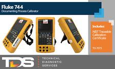Used Fluke 744 Documenting Process Calibrator Td 7073 Nist Calibration