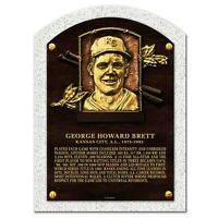 George Brett Kansas City Royals 3-D Textured Hall of Fame Gallery Plaque