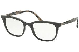 Authentic PRADA Rx PR 05VV-2691O1 Eyeglasses Grey *NEW*  53 mm
