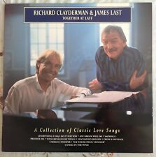 "RICHARD CLAYDERMAN & JAMES LAST,TOGETHER...VINTAGE 12"" LP 33.EXCELLENT CONDITION"