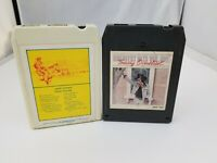 Country 8 Track Tapes Set of 2 Jack Greene & Tommy Overstreet Greatest Hits