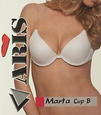 Reggiseno Aris Marta Push-Up Nero Fascia Dorsale Spalline Silicone Trasparente
