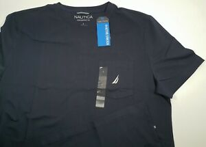 New Authentic Nautica Men's Active Stretch Performance T-Shirt CLEARANCE SALE