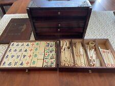 Vintage Boxed Mah Jong Set
