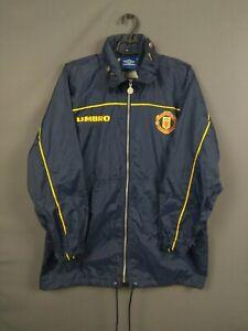 Manchester United Jacket Size S Umbro Vintage Retro Football Soccer ig93