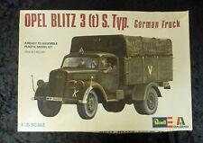 Revell italaerei Opel Blitz Alemán Camión 1/35 Escala Modelo Kit