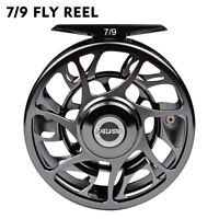 New Saltwater Fly Fishing Reel CNC-Machined Aluminum 5/7-7/8-9/10 WT Fly Wheel