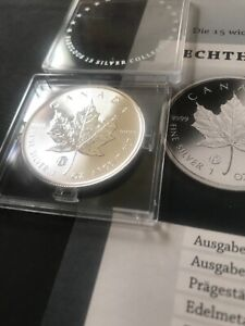 NEW! CANADA 2020 MAPLE LEAF Fabulous Collection F15 Privy 1 Oz 999.9 Silver Coin
