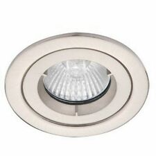 Downlight ALTO Fuego Clasificado Cromo Fija Lámpara Spot Luz Led MR16 GX5.3 AL5180