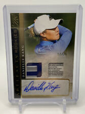 New listing 2021 Upper Deck Artifacts Golf Rookies DANIELLE KANG Rookie Patch Auto /25 SP RC