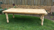 Amish made reclaimed barn wood farm table 7' custom built **FREE SHIPPING**