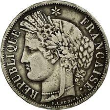 [#455869] Monnaie, France, Cérès, 5 Francs