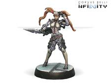 Infinity ALEPH Nesaie Alkê, Thorakitai Warrant Officer (Spitfire) NIB