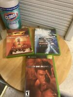Dead or Alive Trilogy 1 2 3 Original Microsoft Xbox Video Game Lot Fast Shipped