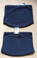 Men's regatta Neck Gaiter Snood Navy Blue Fleece Brand New
