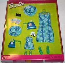 "BARBIE & KELLY FASHION AVENUE OUTFIT ""Island Vacation"" Mattel 1999 #25756 NRFB"