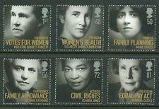 Great Britain Scott #2601-2606 MNH Famous Women CV$9+ ISH-1