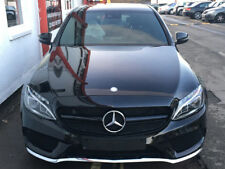 W205 C Class AMG C63 Style Black grille WITH 360 DEGREE CAMERA TO JUNE 2018
