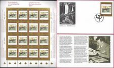1997 PAINTINGS 10 Walter J. Phillip --- Canada 1635 SHEET + FDC --- CV $63.00