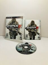 Sniper: Ghost Warrior 2 (Sony PlayStation 3, 2013) Tested Complete Mint Disc