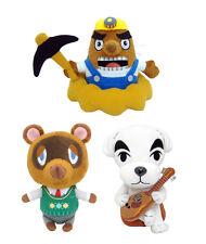 Animal Crossing New Leaf: Mr. Resetti/ Tom Nook/ KK Slider Little Buddy Plush