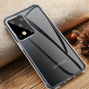 For Samsung Galaxy S21 Plus A51 A71 S20 Ultra A21S Bumper Shockproof Case Cover