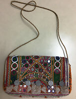 Indian Vintage Sling Bag For Women Tribal Crossbody Clutch Bag Boho Gypsy Bag