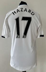 Chelsea 2012/2013 Away Adidas Football Shirt, Hazard #17 - M Medium