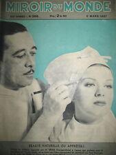 HELEN WOOD MAQUILLAGE INCAS ?INDIENS CHOKAI JEUNES ARTISTES MIROIR DU MONDE 1937