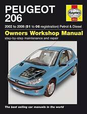 Peugeot 206 02-06 Service and Repair Manual by Haynes Publishing Group (Paperback, 2015)