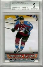 NATHAN MacKINNON 2013-14 Upper Deck Young Guns ROOKIE BGS 9 Rookie Beckett RC