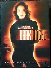 DARK ANGEL DvD JESSICA ALBA SEXY First Season One 1 JAMES CAMERON Woman KILL Die
