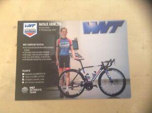 Natalie Grinczer WNT-ROTOR Pro Cycling Women's Rider Card