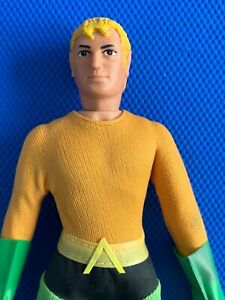 1973  Mego  AQUAMAN  all  original  HIGH GRADE beauty !!  original A sticker