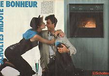 Publicité 1985  ( Double page )  SCHOLTES four électroménager