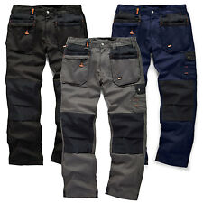 6cd5e1eb Scruffs WORKER PLUS Work Trousers Graphite Grey Navy Black Trade Hardwearing