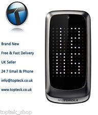 Motorola GLEAM plus + couleur MERCURY-argent (débloqué) téléphone portable neuf