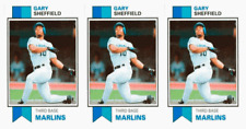 (3) 1993 SCD #83 Gary Sheffield Baseball Card Lot Florida Marlins