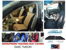 Coverking Neosupreme Custom Tailored Seat Covers for GMC Yukon - 3 Rows!