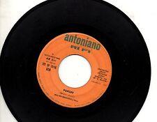 ZECCHINO D'ORO disco 45 giri MADE in ITALY Popoff + La canzone della luna 1967
