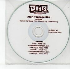 (EH1) Atari Teenage Riot, Activate - 2010 DJ CD