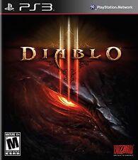 NEW Diablo III 3 (Sony Playstation 3, 2013)